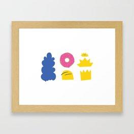 Simpsons Family Framed Art Print