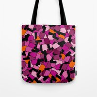 nail polish Tote Bags featuring Nail Polish by ts55
