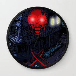 MURDERHOUSE Wall Clock