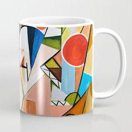 Abstract Beginning Coffee Mug