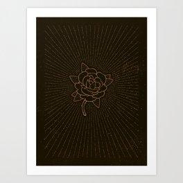 Gypsy. Art Print