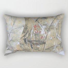 Printed foliage Rectangular Pillow