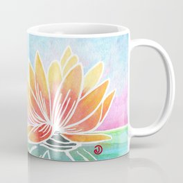Rainbow Lotus Coffee Mug