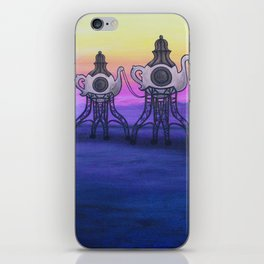 LOST TEA PARTY iPhone Skin