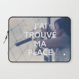 Paris (J'ai trouvé ma place) Laptop Sleeve