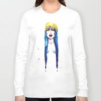bleach Long Sleeve T-shirts featuring Bleach by Cristina Stefan