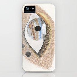 The Eye Sees Jupiter iPhone Case