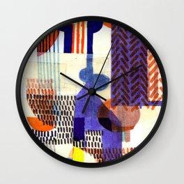 Collage II Wall Clock