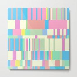 Chopin Prelude (Miami Beach Colours) Metal Print