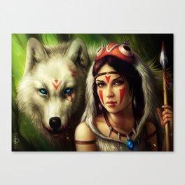 """Princess Mononoke"" Canvas Print"