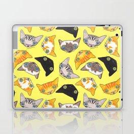 """""""Oro?"""" Cats-Canary Yellow Laptop & iPad Skin"""