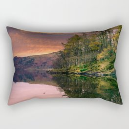 By the Lake Side Rectangular Pillow