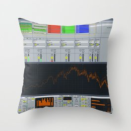 ABLETON Throw Pillow