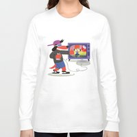 rap Long Sleeve T-shirts featuring Rap Game by Lily's Factory