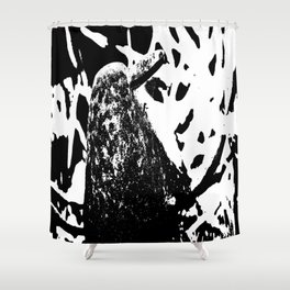 Exile Bird Shower Curtain