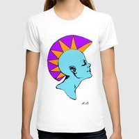 goddess T-shirts featuring Goddess by Helena Bowie Banshees