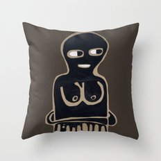 someone else Throw Pillow