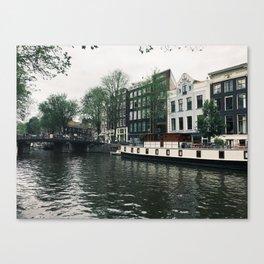 Amsterdam Canal I Canvas Print