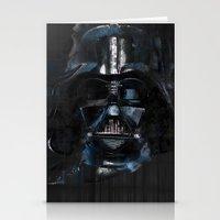 darth vader Stationery Cards featuring Darth Vader by BarLevitsky