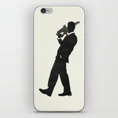 American Psycho Minimalist Poster iPhone & iPod Skin