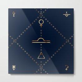 Libra - Alchemy Collection Metal Print