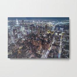 New York City Skyline V Metal Print
