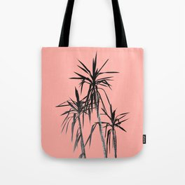 Palm Trees - Apricot Blush Cali Summer Vibes #1 #decor #art #society6 Tote Bag