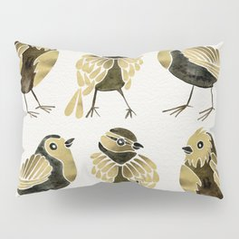 24-Karat Goldfinches Pillow Sham