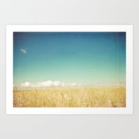 calm Art Prints featuring Calm by Olivia Joy StClaire