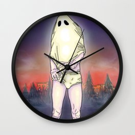 Shirt Ghost Wall Clock