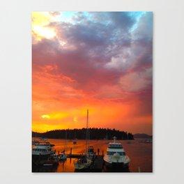 Friday Harbor Canvas Print