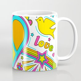 Love & Peace Coffee Mug