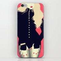 2ne1 iPhone & iPod Skins featuring The Baddest by Yabamena