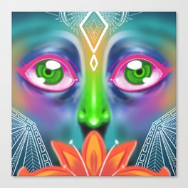 Eyes into the Soul Canvas Print