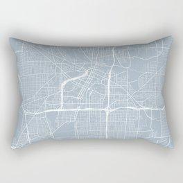 Akron Map, USA - Slate Rectangular Pillow