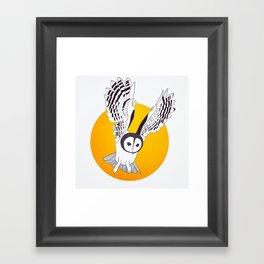 YellOwl Framed Art Print
