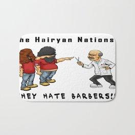 The Hairyan Nations Bath Mat