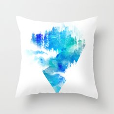 Escape from town Throw Pillow