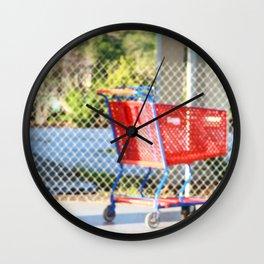 Abandon Wall Clock