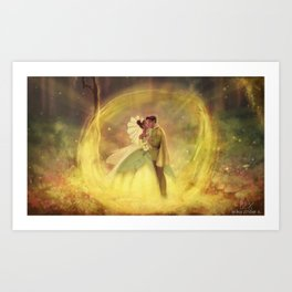 You Just Kissed Yourself a Princess Art Print