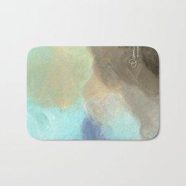 Abstract cloud Bath Mat