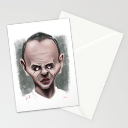 Anthony Hopkins / Hannibal Lecter - Caricature Stationery Cards