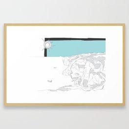 Żurrieq - Blue Grotto Framed Art Print