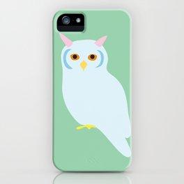 blue owl iPhone Case