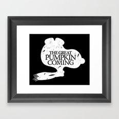 Game of Peanuts Framed Art Print