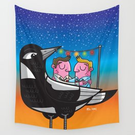Wedding day Wall Tapestry