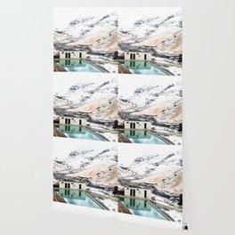 Seljavallalaug Pool, Iceland Wallpaper