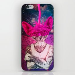 Sphynx COLOR iPhone Skin