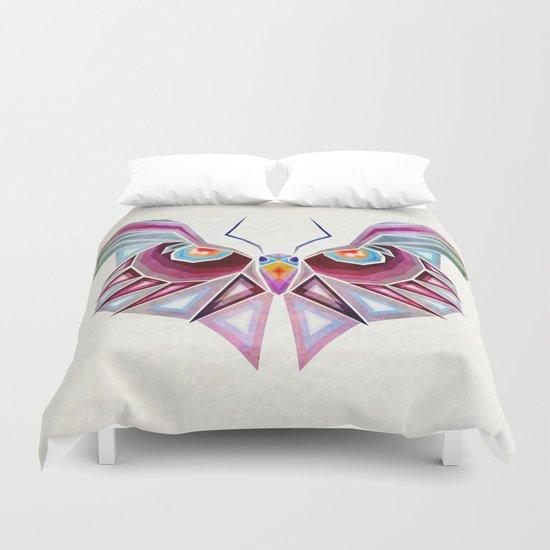owl or butterfly? Duvet Cover