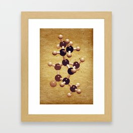 The Brown Element Framed Art Print